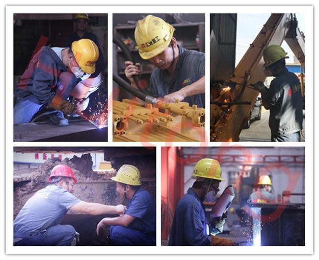 Excavator Manual Quick Hitch Processing at Huitong factory