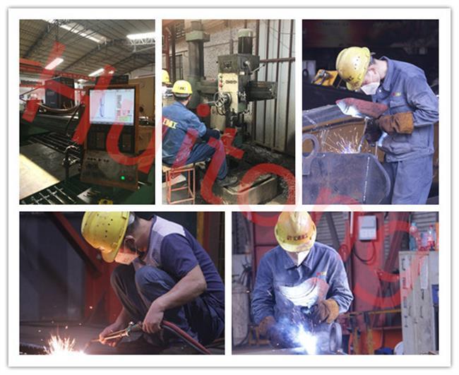 Excavator Manual Quick Hitch Processing at Huitong Workshop