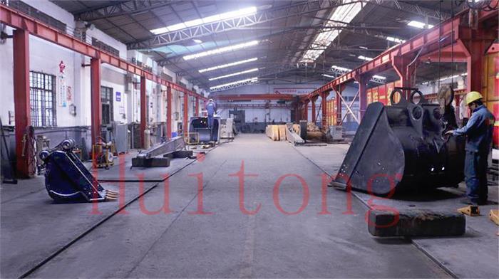 Excavator Booms and sticks factory touru-Workshop3