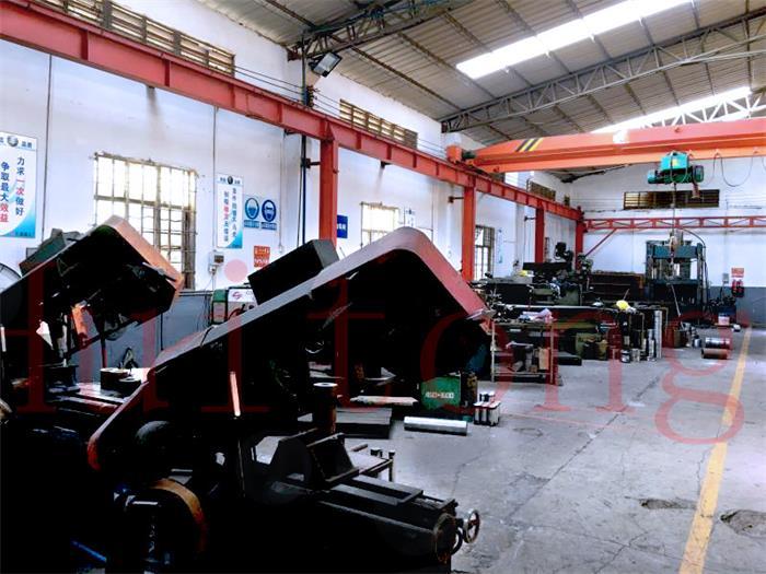 Excavator attachments factory tour-Mechining Workshop 1
