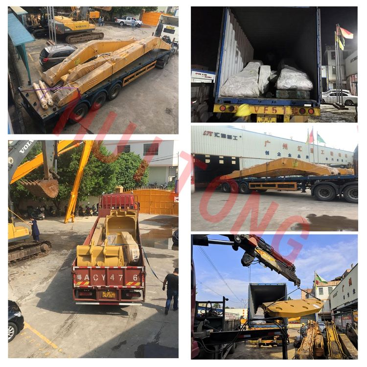Excavator Manual Quick Hitch packing