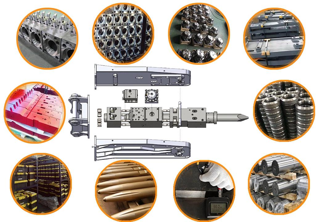 material for hydraulic hammer
