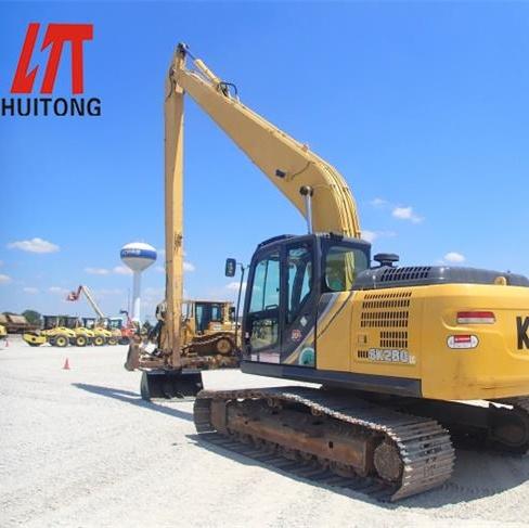 excavators long fronts boom