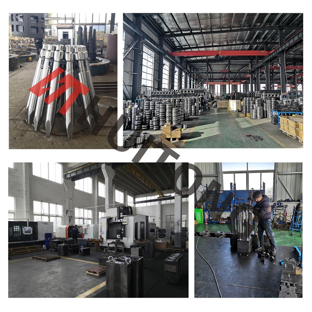 Processing Hydraulic Hammer