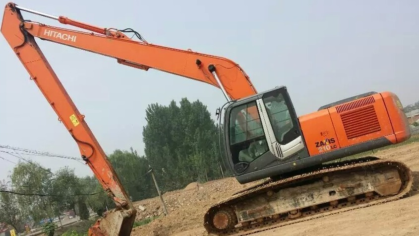 Have you not equipped such an important excavator long front boom