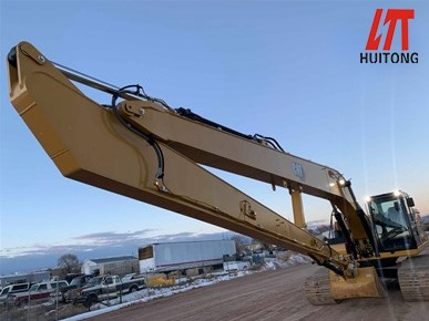 How can you repair high-speed rail without the excavator long front boom