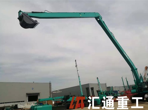 Why is butter so important in the excavator long fronts boom