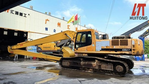 New infrastructure is a good opportunity to excavators long fronts boom