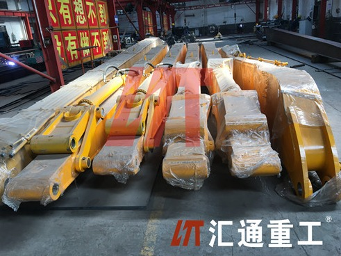 Excavator long reach fronts manufacturer say this can capture consumers