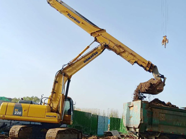 Why can't the clamshell telescopic arm of the excavator catch fire?