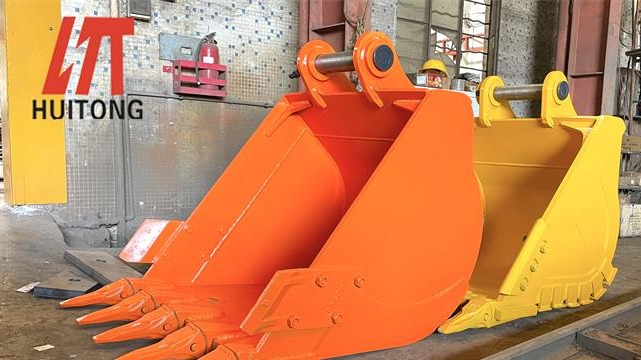How often does the excavator bucket attachments need to be replaced?