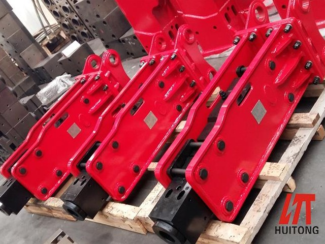 What size hydraulic breaker is suitable for the excavator
