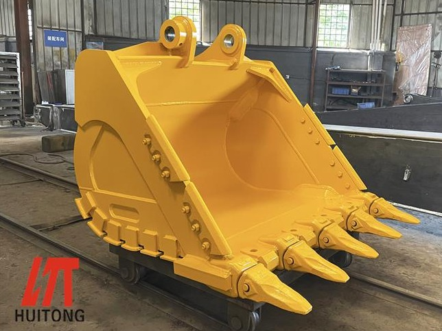 The komatsu excavator heavy duty bucket is more efficient in this way