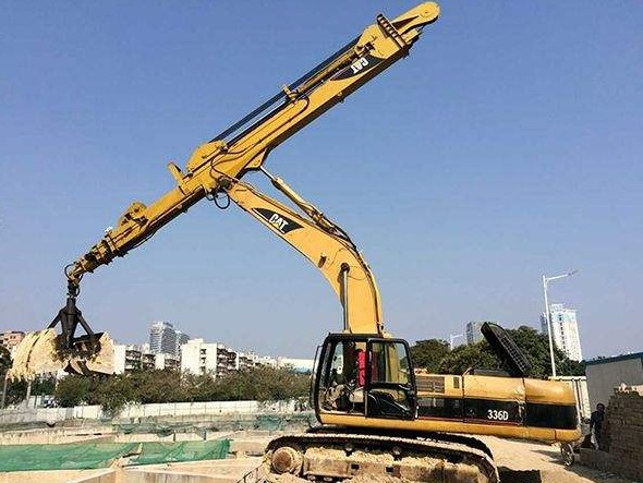 How to maintain the excavator telescopic boom daily